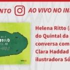 """Clara Haddad lança livro infantil """"O que é que o crocodilo come ao meio-dia?"""" neste sábado (22)"""